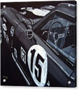 Ford Cobra Racing Coupe Acrylic Print
