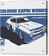 Ford Cologne Capri Works Acrylic Print