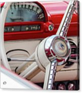 Ford Crown Victoria Stering Wheel Acrylic Print