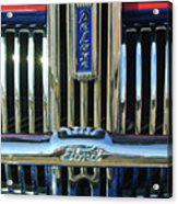 Ford Deluxe Grille Acrylic Print