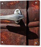 Ford Door Handle Acrylic Print