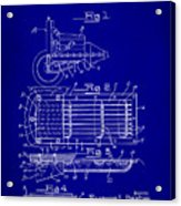 Ford Engine Lubricant Cooling Attachment Patent Drawing 1c Acrylic Print