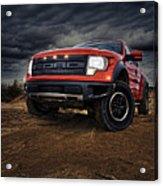 Ford F 150 Raptor  Acrylic Print