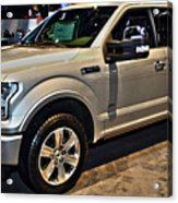 Ford F150 Fx4 Platinum Acrylic Print