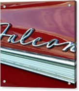 Ford Falcon Acrylic Print by David Lee Thompson