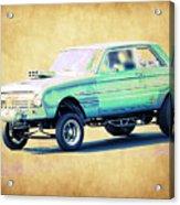 Ford Falcon Gasser Acrylic Print