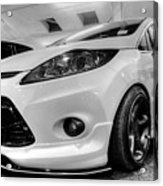 Ford Fiesta In Hdr Acrylic Print