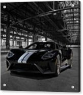Ford Gt '66 Heritage Edition Acrylic Print