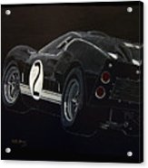 Ford Gt40 Racing Acrylic Print