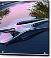 Ford Hood Ornament 56 Acrylic Print