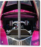Ford Hot Rod Grille Acrylic Print