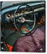 Ford Interior Acrylic Print