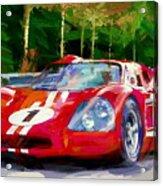 Ford Mark Four Acrylic Print