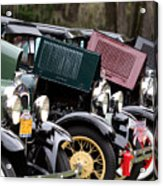 Ford Model A Line Up Acrylic Print