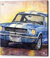 Ford Mustang Gt 350 1966 Acrylic Print