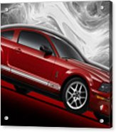 Ford Mustang Gt 500 3 Acrylic Print