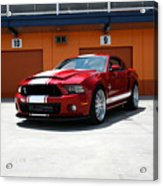 Ford Mustang Shelby Gt500 Acrylic Print