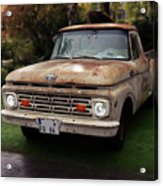 Ford Pickup, Ford 1964 Acrylic Print