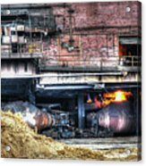 Ford Rouge Plant Steelmill Acrylic Print