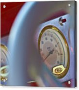 Ford Speedometer Acrylic Print