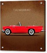 Ford Thunderbird 1957 Acrylic Print