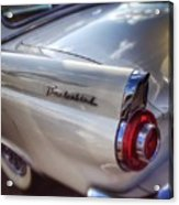 Ford Thunderbird Fender Color  Acrylic Print