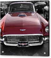 Ford Thunderbird Red V1 Acrylic Print