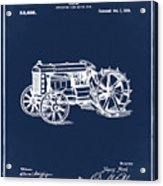 Ford Tractor Patent 1919 Acrylic Print
