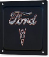Ford V8 Acrylic Print