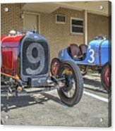 Fords 9 And 3 Acrylic Print
