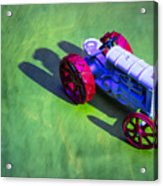 Fordson Tractor Toy 1 Acrylic Print