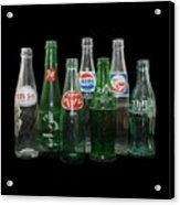 Foreign Cola Bottles Acrylic Print