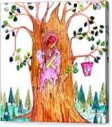 Forest Angel Acrylic Print
