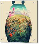Forest Dream Acrylic Print