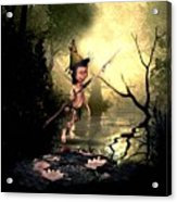Forest Elf Acrylic Print