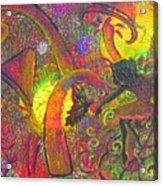 Forest Fairies - 1 Acrylic Print