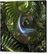 Forest Floor Fantasy Acrylic Print