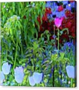 Forest Flowers Different One Acrylic Print