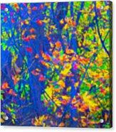 Forest Foliage Art Acrylic Print