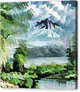Forest Impression 18 Acrylic Print