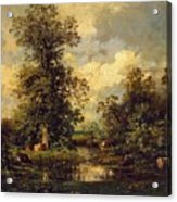 Forest Landscape 1840 Acrylic Print