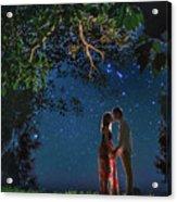 Forest Mingle Acrylic Print