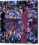 Forest Of Resonating Lamps Acrylic Print