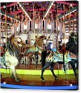 Forest Park Carousel Acrylic Print