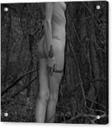 Forest Nude Acrylic Print