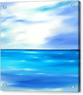 Forever Azure Acrylic Print