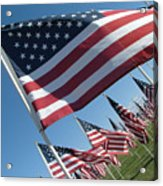 Forever Flags Acrylic Print