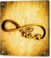 Forever Love Acrylic Print