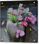 Forgotten Again - Painted Acrylic Print