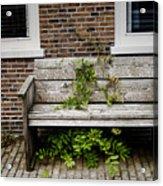 Forgotten Bench Acrylic Print